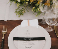 Rustic modern Big Sur wedding