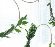 simple green wreaths