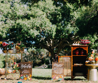 Fall bohemian bridal shower