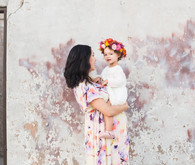 mommy and me maternity photos