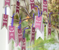 Escort card tree