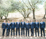 California garden wedding