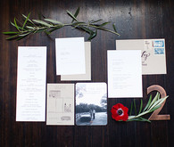 Rustic Texas wedding invitations