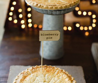 Pie dessert table
