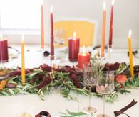 Elegant Fall tablescape