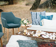 Bohemian friendsgiving inspiration