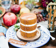 Mini pumpkin cake