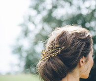 Chignon bridal hair