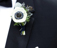 Anemone boutonnieres