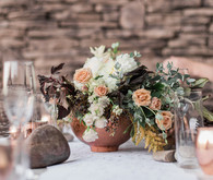 Earthy winter wedding inspiration