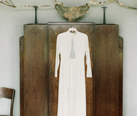 Halston Heritage wedding dress