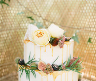 Buttercup Bakery wedding cake