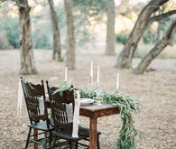 Modern forest wedding inspiration