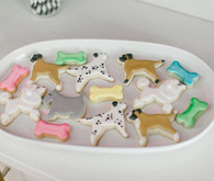 puppy sugar cookies