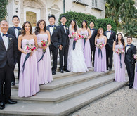 Lavander bridesmaid dresses