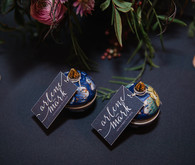Salt and pepper escort cards