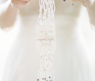 Macrame save the date
