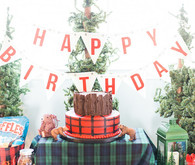 Lumberjack birthday party
