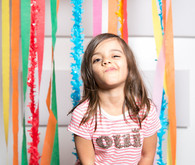 Colorful Photo Booth backdrop
