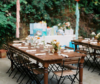 outdoor garden baby shower