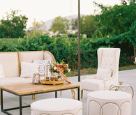 Elegant wedding lounge