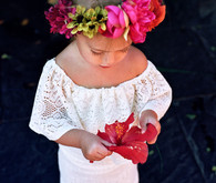 toddler girl flower crown