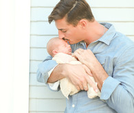 beachy newborn photos in Malibu