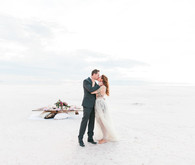Utah Salt Flats wedding inspiration