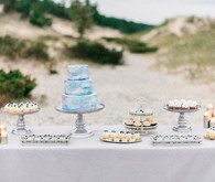 Seaside dessert table