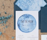 moon birthday invites