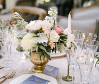 Pantone colored wedding florals