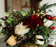 Winter cocktail party florals