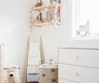 Neutral natural boys nursery