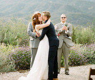 Red Tall Ranch wedding ceremony