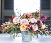 Autumn wedding florals