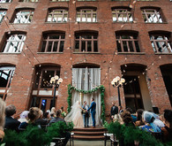 Elegant Seattle wedding ceremony