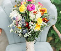 DIY summer bridal bouquet