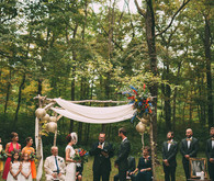 DIY woodsy wedding