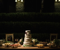 Wedding cake table