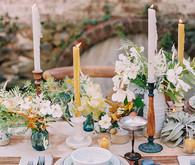 Vintage french country tablescape