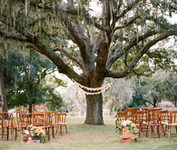 Vintage Flordia summer wedding