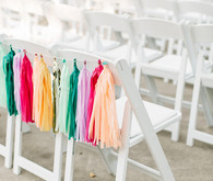 Ceremony tassel decor