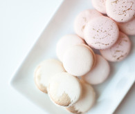 ombre pink macarons