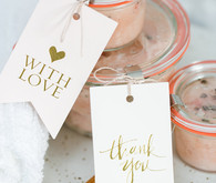 DIY coconut salt scrub favors