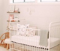 vintage french girls nursery