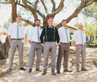 California summer wedding