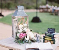 Rustic wedding guestbook