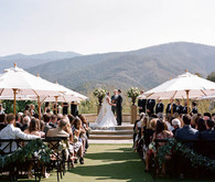 Holman Ranch wedding ceremony