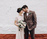 Winter wedding in Brooklyn