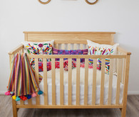 Modern folk art nursery design